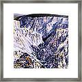 Yellowstone Canyon Yellowstone Np Framed Print