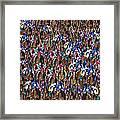 1000 Horses Framed Print