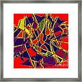 1010 Abstract Thought Framed Print