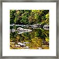 Williams River Autumn Framed Print