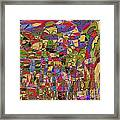 1144 Abstract Thought Framed Print