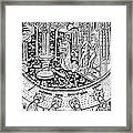 Adam And Eve.  Framed Print