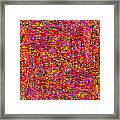 1251 Abstract Thought Framed Print