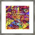 1261 Abstract Thought Framed Print