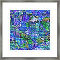 1289 Abstract Thought Framed Print