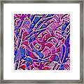 1412 Abstract Thought Framed Print