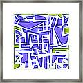 1623 Abstract Thought Framed Print