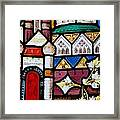 Religious Stained Glass Window Framed Print