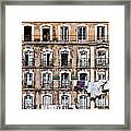 18th Century Building In Lisbon Framed Print