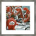 Automobile Racing Framed Print