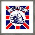 1910 Union Jack Cheerio Framed Print