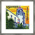1915 San Diego Exposition Framed Print