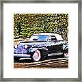 1940 Cadillac Coupe Convertible Framed Print
