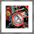 1941 Buick Eight Special Steering Wheel Emblem Framed Print