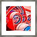 1950s Corvette Framed Print by Phil 'motography' Clark