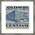 1952 Columbian Stamp Framed Print