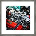 1955 Chevy 327 Framed Print