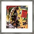 1956 Godzilla Vintage Movie Art Framed Print