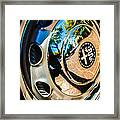1961 Alfa Romeo Giulietta Sprint Speciale Wheel Emblem -0051c Framed Print