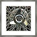 1966 Ferrari 330 Gtc Coupe Wheel Rim Emblem Framed Print