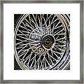 1967 Ford Thunderbird Wire Wheel Framed Print