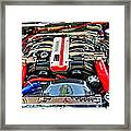 1990 Nissan 300 Zx Import Car Of The Year Framed Print