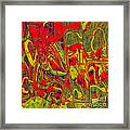 0477 Abstract Thought Framed Print