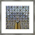 Abstract Architecture Framed Print