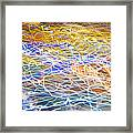 Abstract Background - Citylights At Night Framed Print