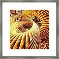 Abstract That Twisted Escher Fx  Framed Print