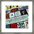 Aids Quilt -- 1 Framed Print