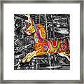 Carousel In Bournemouth Framed Print