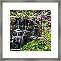 Cascading Waterfall Framed Print