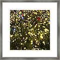 Christmas Tree Ornaments Faneuil Hall Tree Boston Framed Print