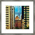 Down To The Bay Framed Print