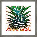Hawaiian Pineapple Framed Print