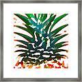Hawaiian Pineapple Framed Print