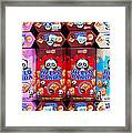 Hello Panda Biscuits Framed Print