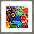 Homage To Vincent Van Gogh Framed Print