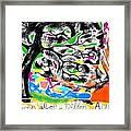 It's Pretty Wicked Framed Print by Joe Dillon