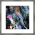 Jellyfish Forest Framed Print