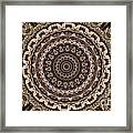 Kaleidoscope 49 Framed Print