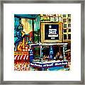 Montreal International Jazz Festival Framed Print