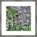 Old City Jail Window Framed Print