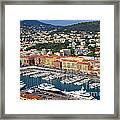 Port Du Nice Framed Print