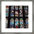 Religious Stained Glass Windows Framed Print