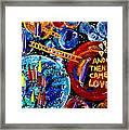 Then Came Love Framed Print
