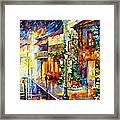 Town From The Dream Framed Print