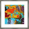 Under The Tropical Sea Framed Print