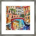Venice Magic Framed Print